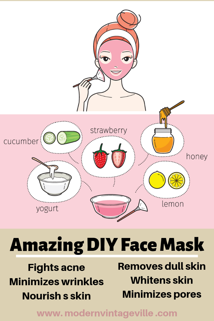10 Simple DIY Face Masks for Healthy, Glowing Skin Easy