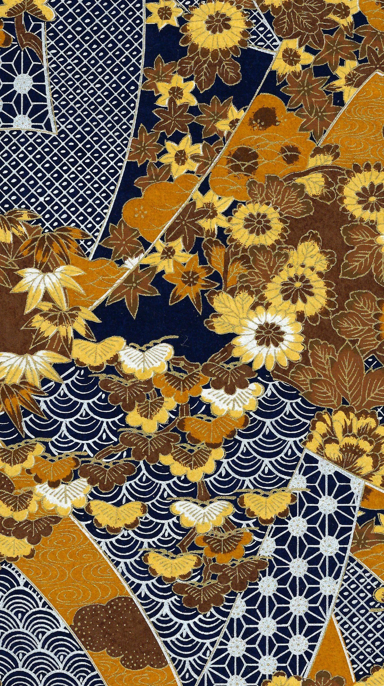 pingl par chez marie sur papiers peints japonais pinterest papier japonais japonais et. Black Bedroom Furniture Sets. Home Design Ideas