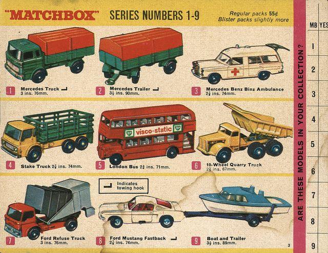1968-xx-xx Matchbox Collector's Catalogue P003 | matchbox/hotwheels