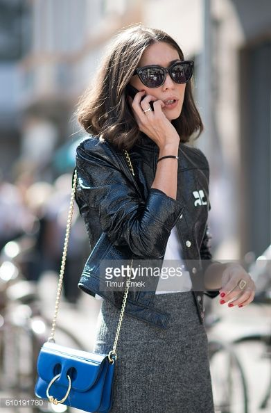 A guest seen during Milan Fashion Week Spring/Summer 2017 on September 24 2016 in Milan Italy