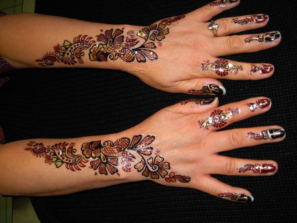 Henna Tattoo On Hands Meaning : Henna tattoo designs and meanings
