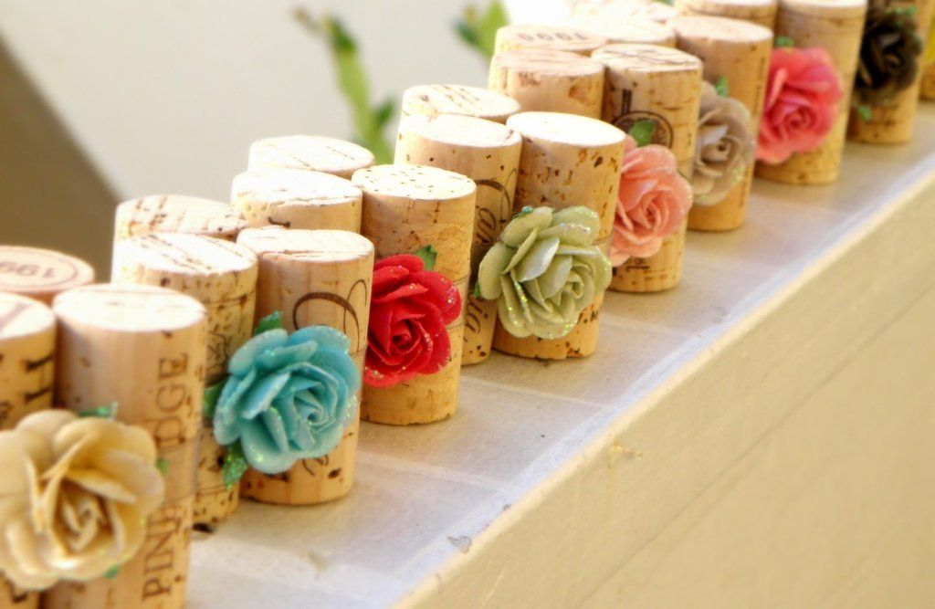 Use one, two, or three corks to make unique place-card holders for  special events like a dinner party or a...