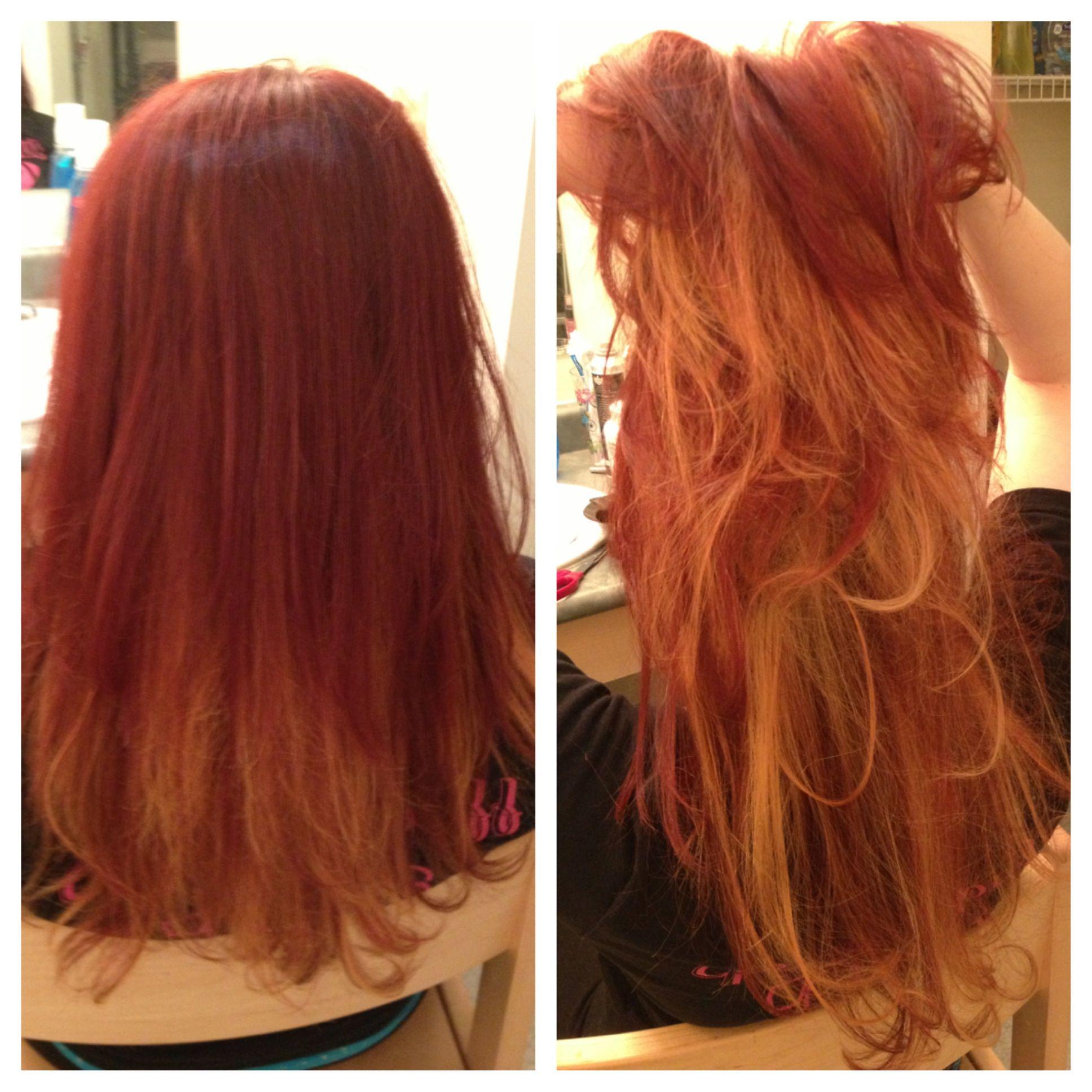 Blonde redhead impure hair-3335
