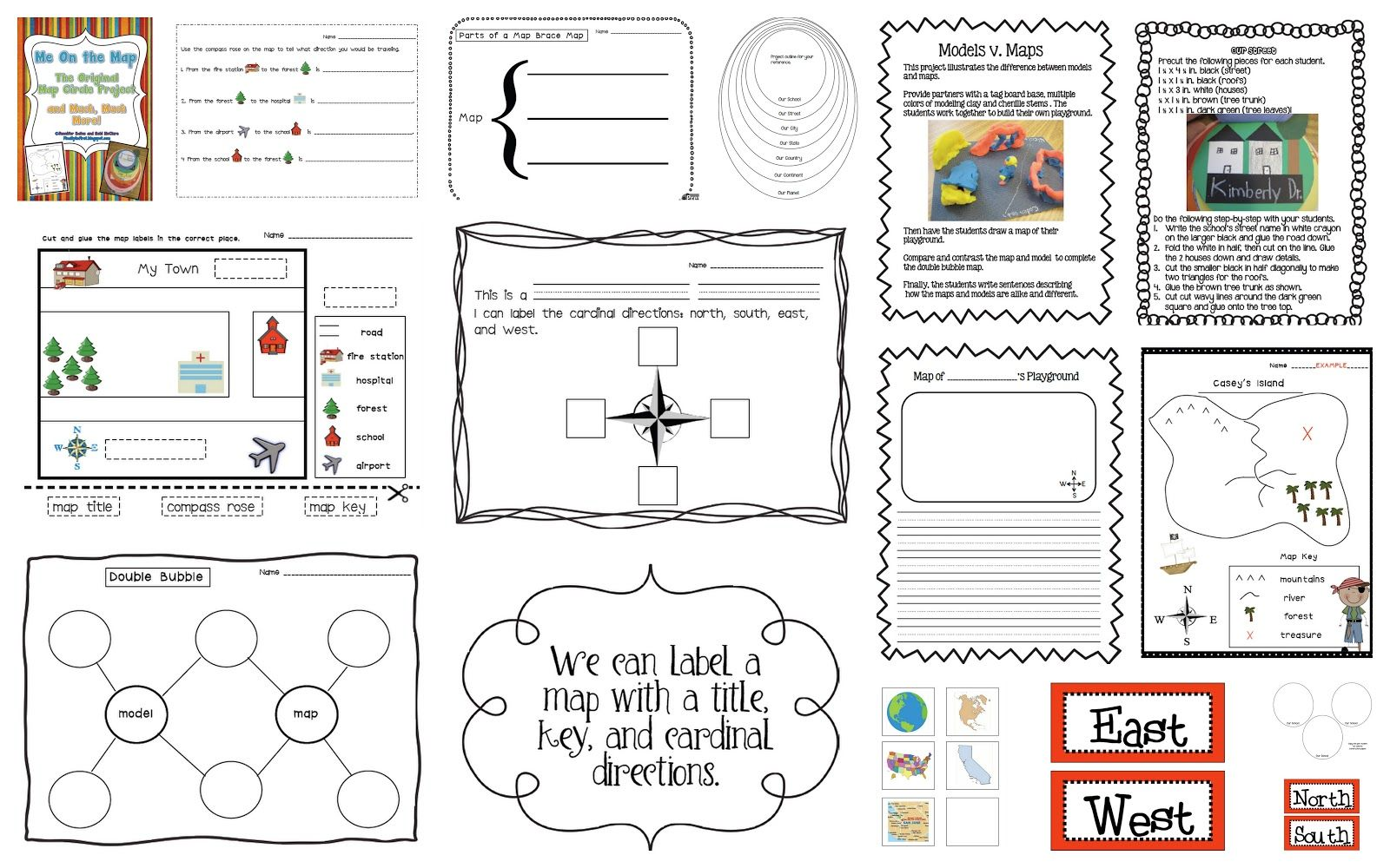 Cardinal Directions Worksheets 1st Grade - Worksheet Pages printable worksheets, alphabet worksheets, grade worksheets, worksheets for teachers, free worksheets, and math worksheets Cardinal Direction Worksheet 1000 x 1600