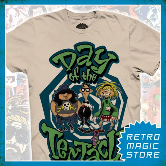 873ee5ff454 DAY OF THE TENTACLE T-shirt