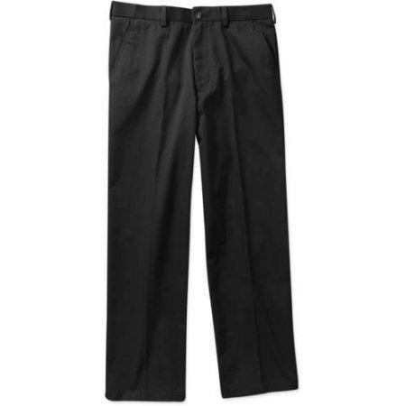 George - Big Men's Premium Flat Front Khaki Pants, Size: 52 x 30 ...