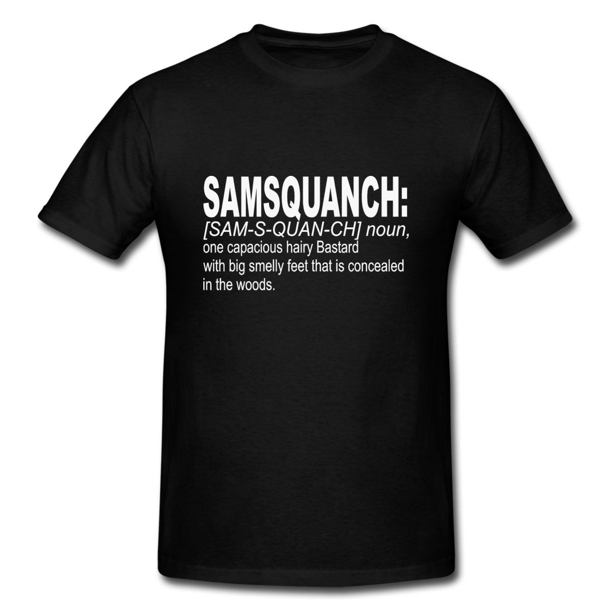 Samsquanch Men's Premium T-Shirt - black | Trailer park boys ...