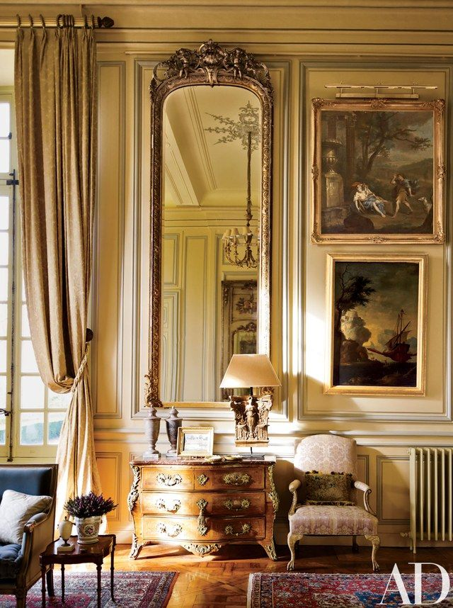 Louis Xv Style Living Room French Interior Design French