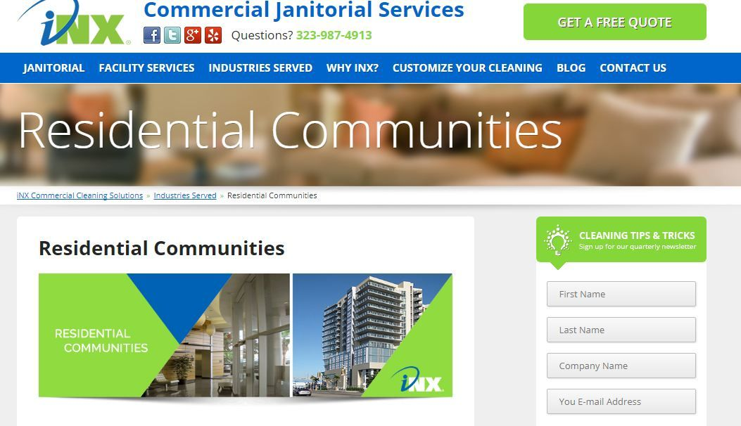 Inx Corp.com Offer Cleaning Sservices As Cleaning Office Building ,  Commercial Cleaning Los