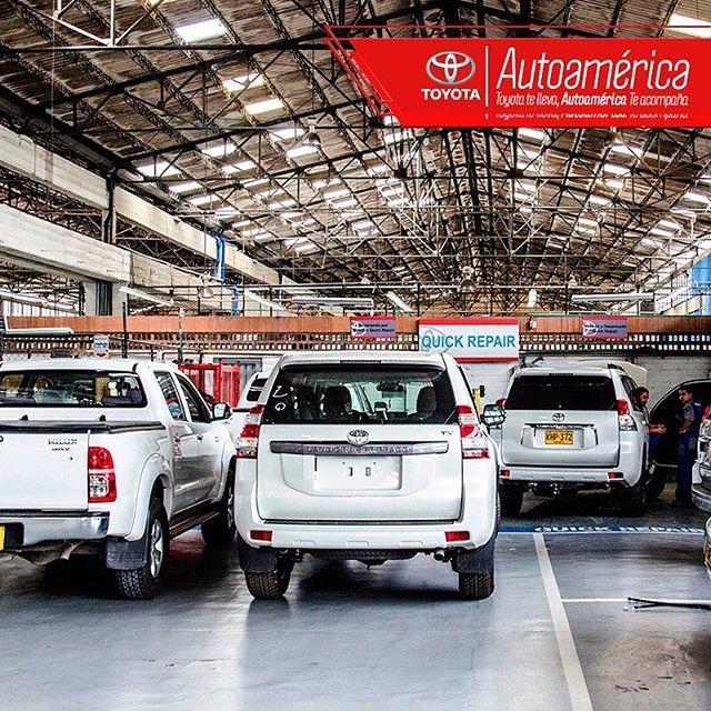 En nuestra sede #AutoaméricaIndustriales encuentras el servicio Quick Repair en el que sólo invertimos 4 horas para la reparación de daños leves de tu vehículo. Solicítalo en http://goo.gl/NBmMYx #Autoamérica.  #ToyotaesToyota #Autoamérica #100%Toyota #Toyotero #Toyotalover #OffRoad #TeamToyota #ToyotaNation #Toyoteros #4x4 #Toyota
