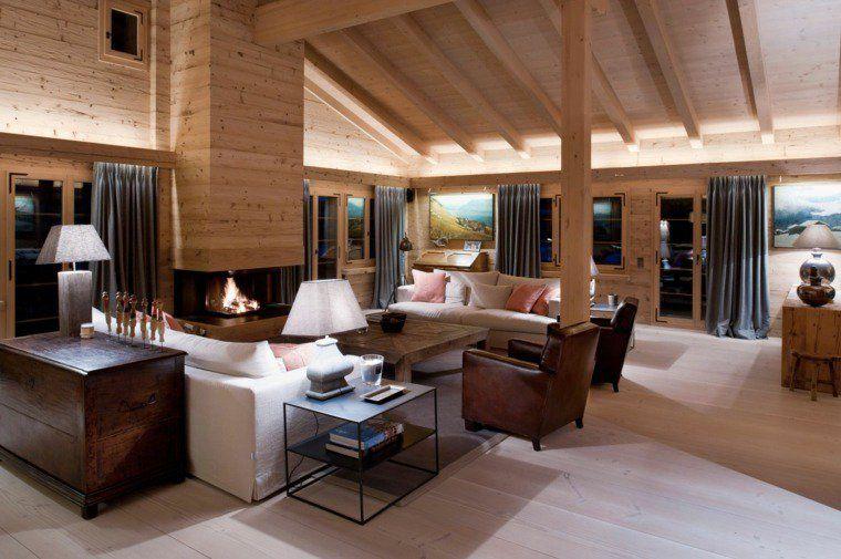 Stunning Decoration Interieur Chalet Moderne Pictures - Design ...
