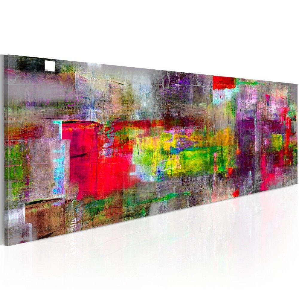 Obraz Na Plotnie Kraina Fantazji Sztuka Obrazy Abstrakcyjny