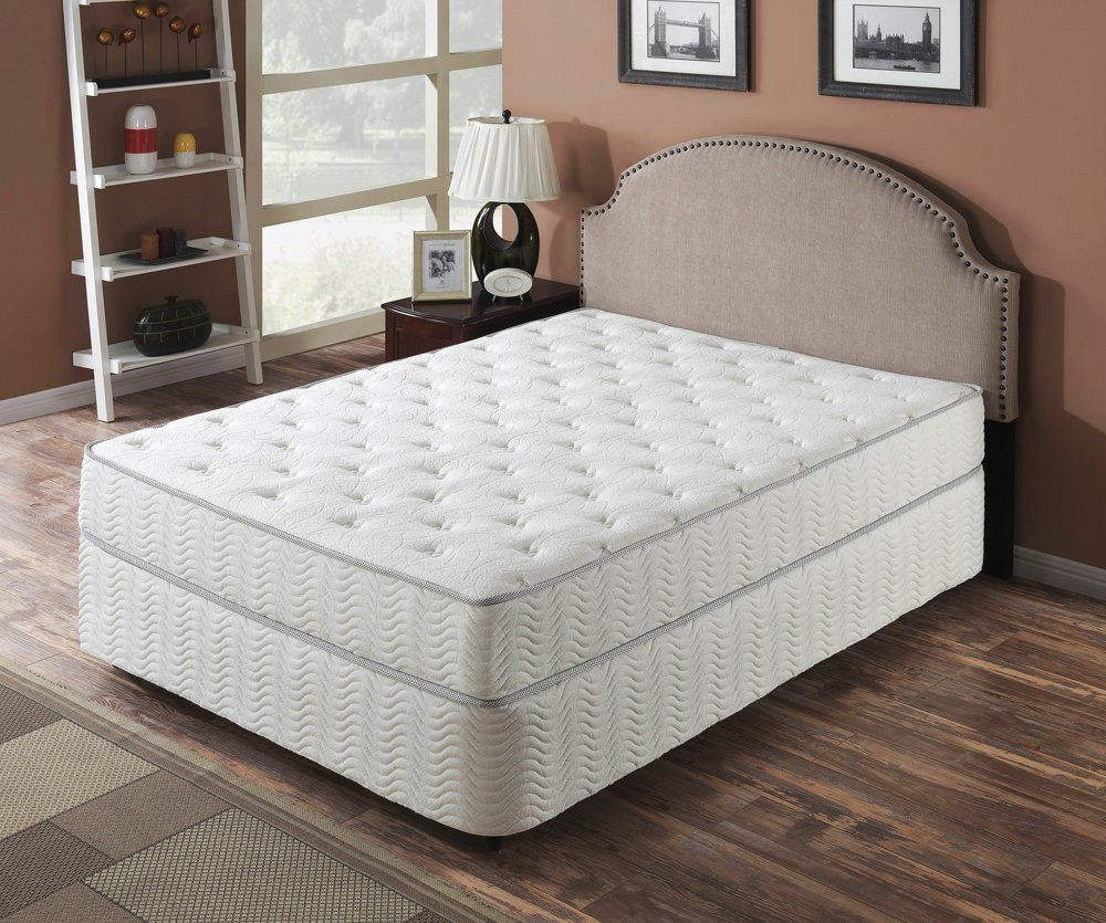 9 Inch Galaxy Pocket Coil Mattress by Rest Therapy