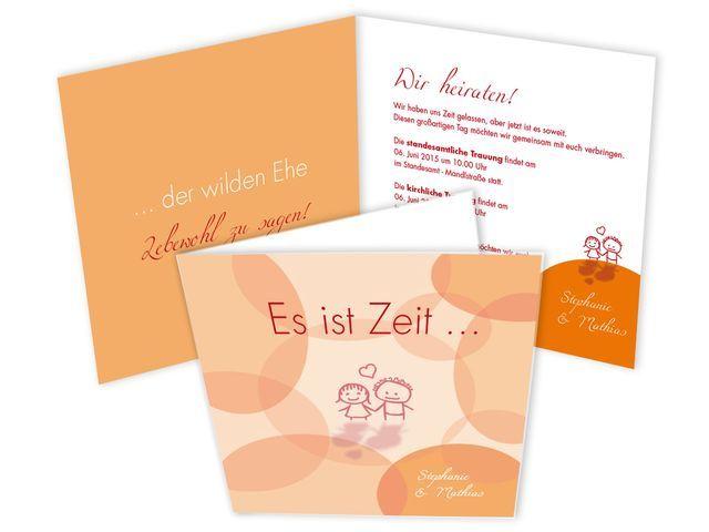 Hochzeitseinladungen+ +Wilde+Ehe+ade!
