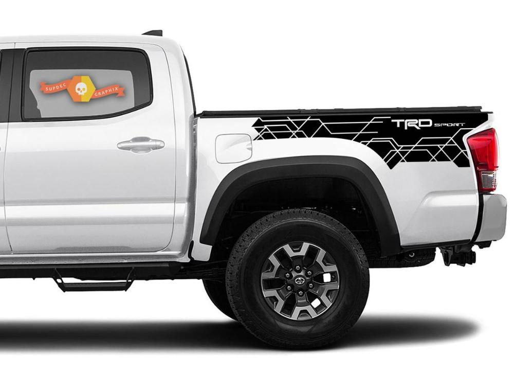 Toyota 20162020 TRD Sport side kit Vinyl Decals