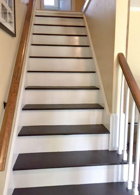 How To Remove Carpet From Stairs And Paint Them Painted