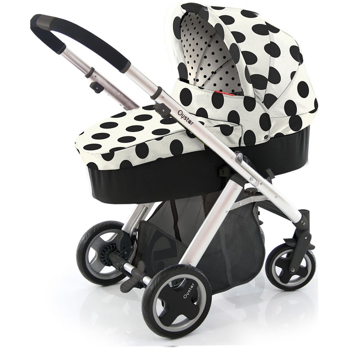 Babystyle Oyster Vogue 3 in 1 Pram Dalmatian Not practical