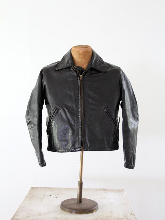 Pin On Vintage Motorcycle Jackets