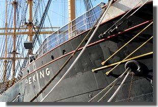 Peking, bateau musée à South street seaport