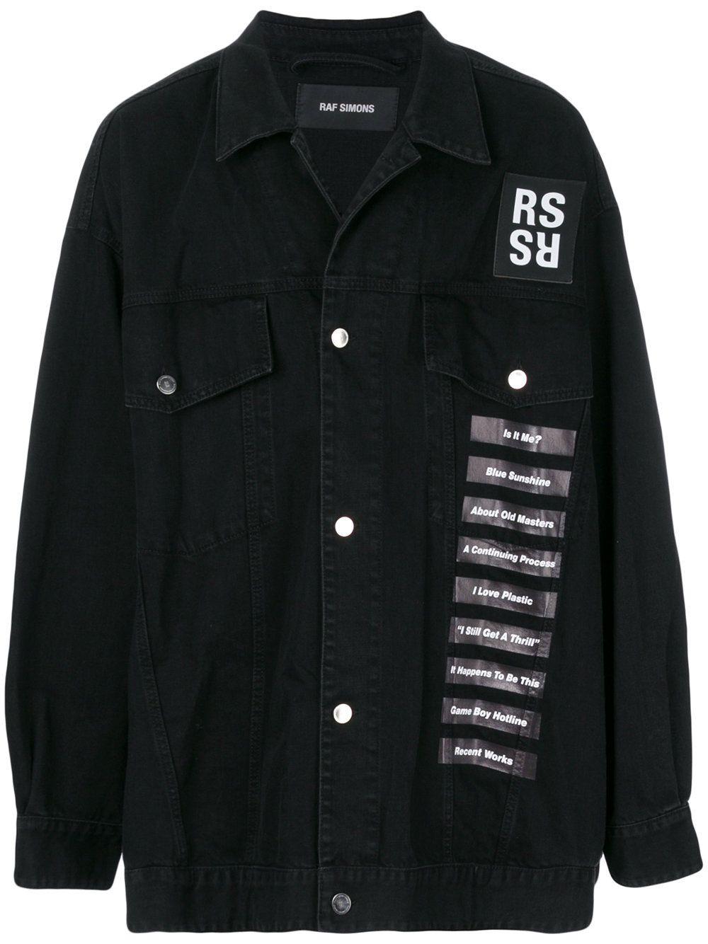 227647c107a RAF SIMONS . #rafsimons #cloth # | Raf Simons Men | Oversized denim ...