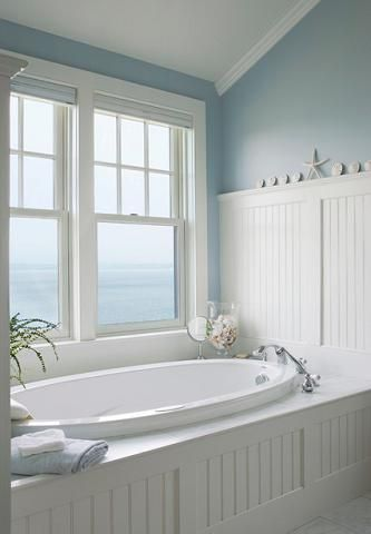 Elements Of A Cape Cod Bathroom Design For A Luxurious
