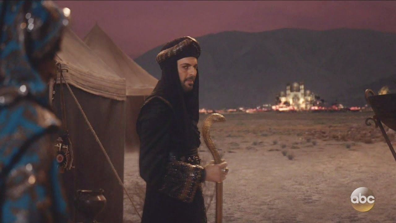 Once Upon A Time 6x15 Jafar Destroys Agrabah Season 6 Episode 15