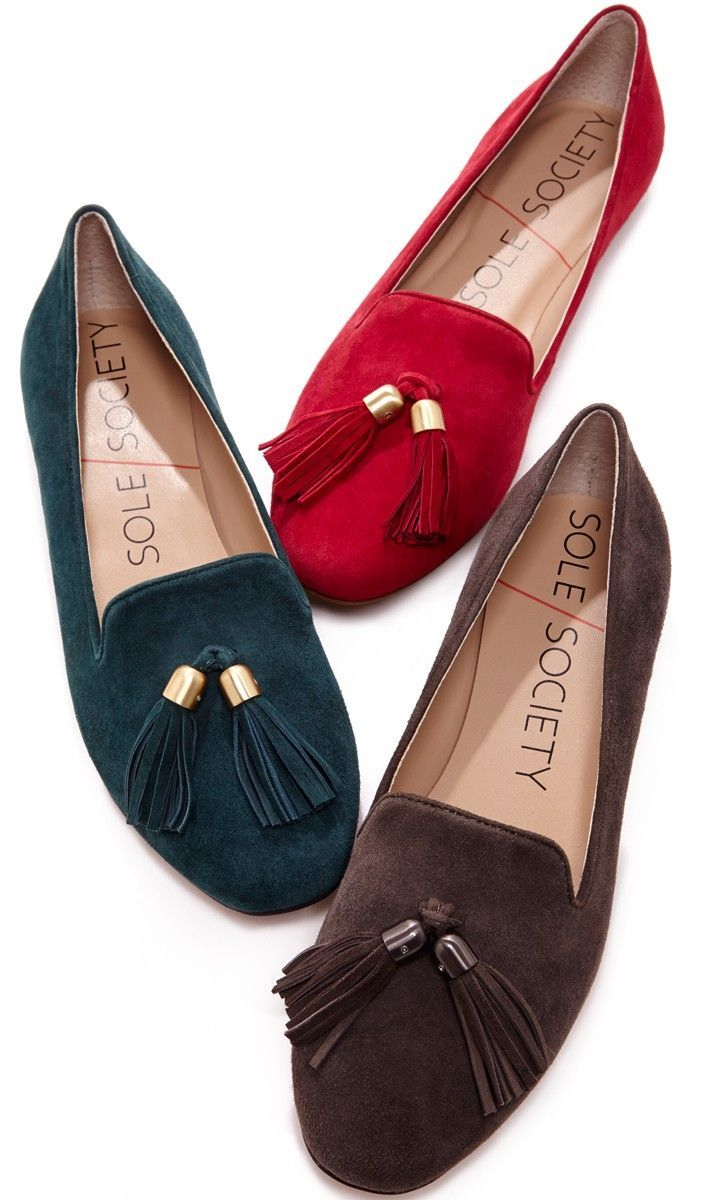 Fashion week Looks Womens with red loafers for lady