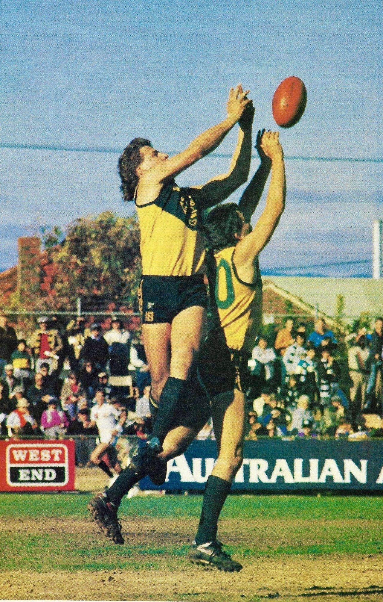 Allen jakovich woodville warriors sanfl 1990 football