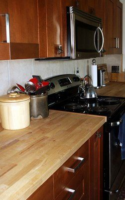 Does Anyone Have Butcher Block Countertops Nbr Diy Countertops Butcher Block Countertops Countertops
