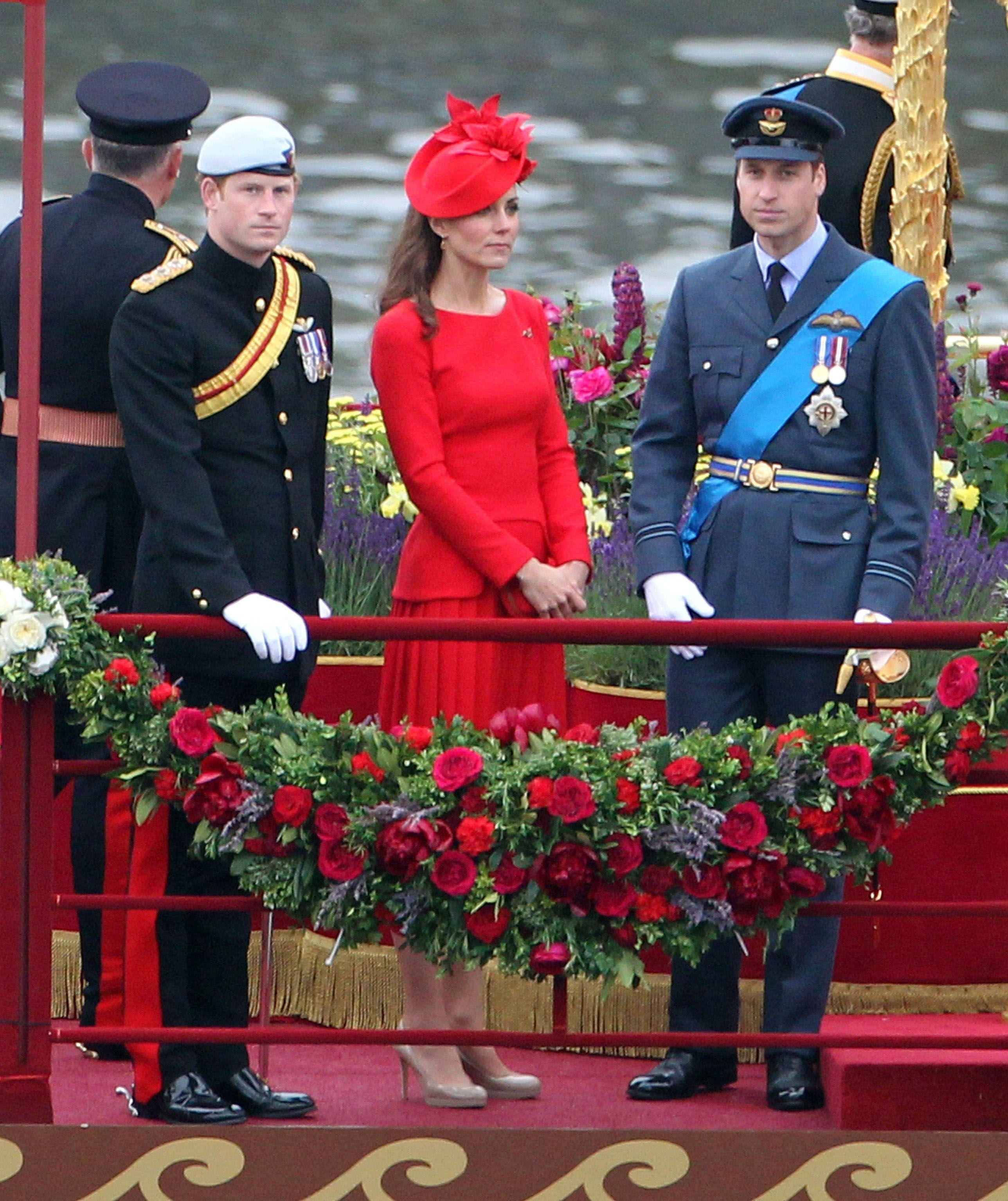 Kate Middleton Photos Photos Diamond Jubilee Thames