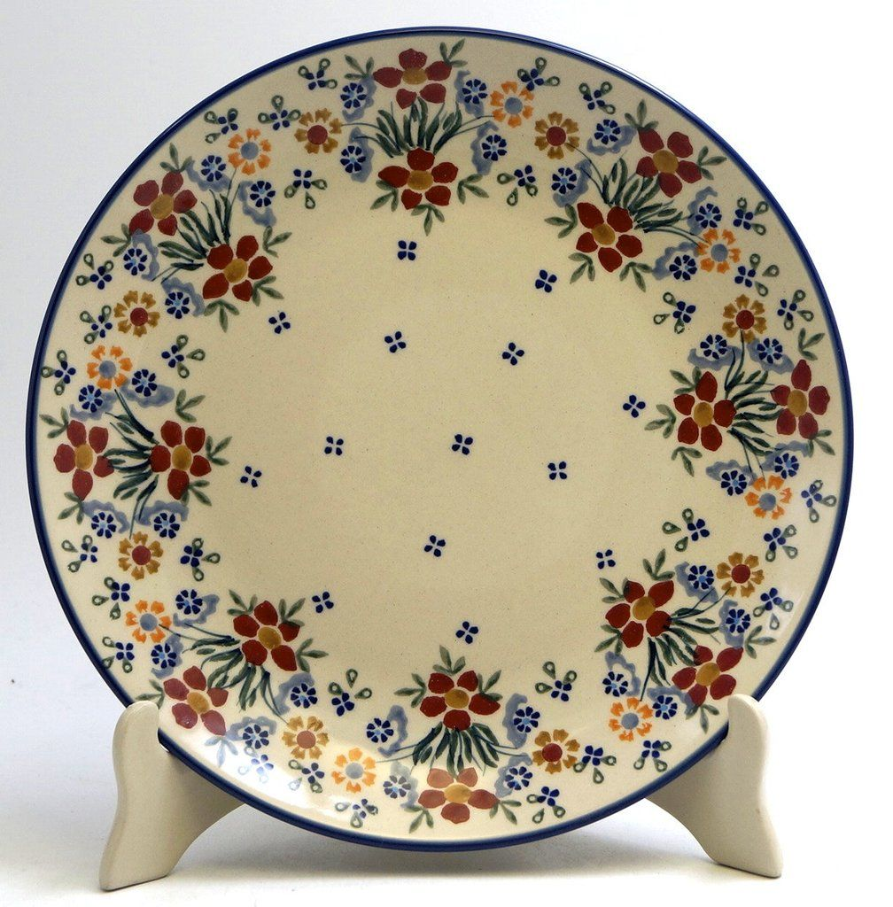 Dinner Plate (Fresh Flowers) High-Quality Polish Stoneware from the largest supplier in the western United States - The Polish Pottery Outlet in Englewood ...  sc 1 st  Pinterest & 10