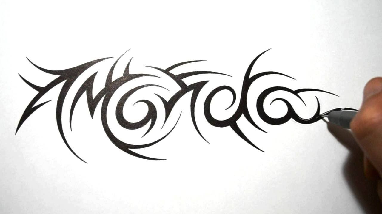 Tribal Name Tattoos Amanda Name Tattoos Tattoos Name Tattoo Designs