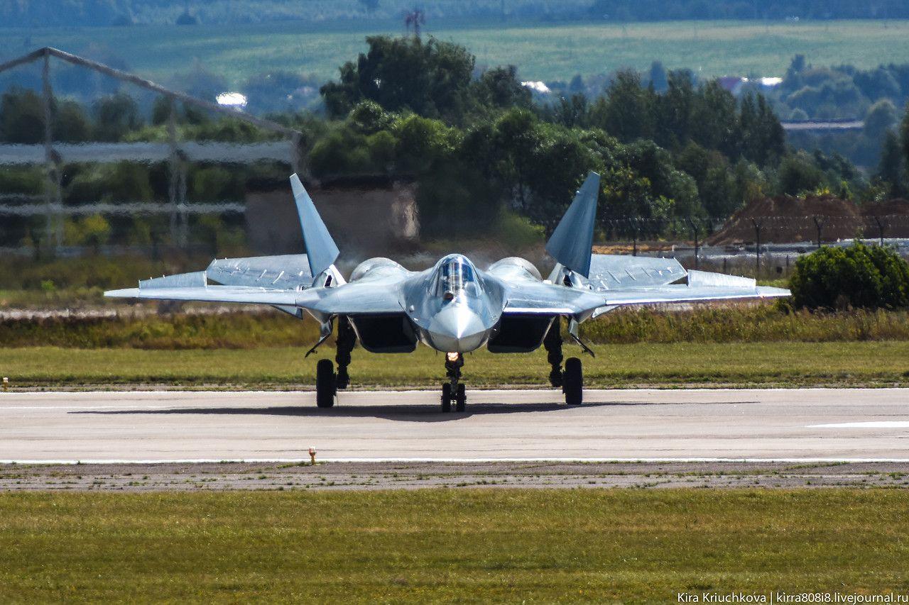 Sukhoi T-50: 12 serão entregues até o final de Setembro