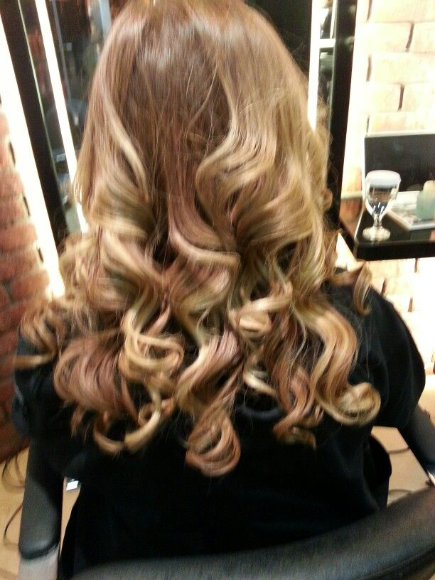 Lovely Hair Color And Awesome Curls Doubler Hair Studio Central
