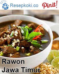 Resep Rawon Daging Sapi Setan Surabaya Paling Spesial Food Indonesian Food Recipes