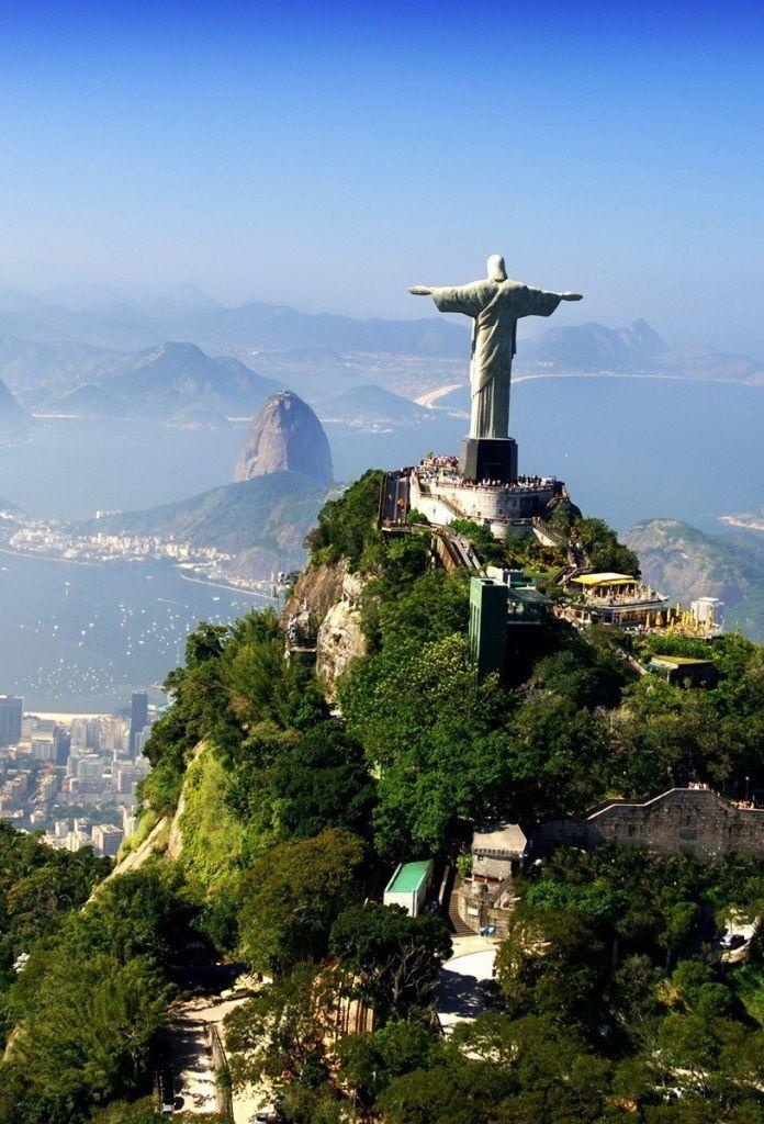 Morro Do Corcovado Cristo Redentor Rj Com Imagens Viagem
