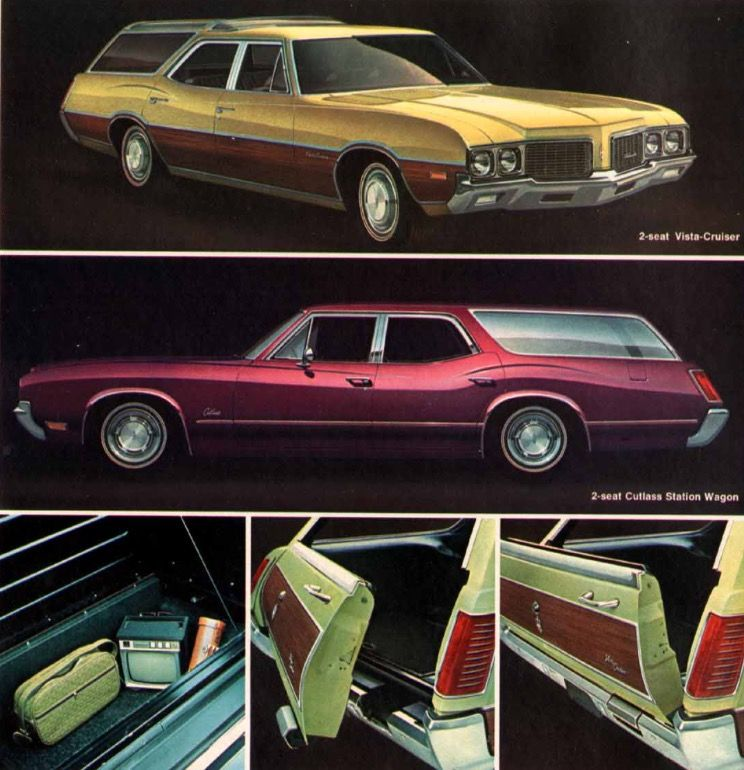 1970 Oldsmobile Cutlass Vista Cruiser And Wagon Oldsmobile Retro Cars Oldsmobile Cutlass