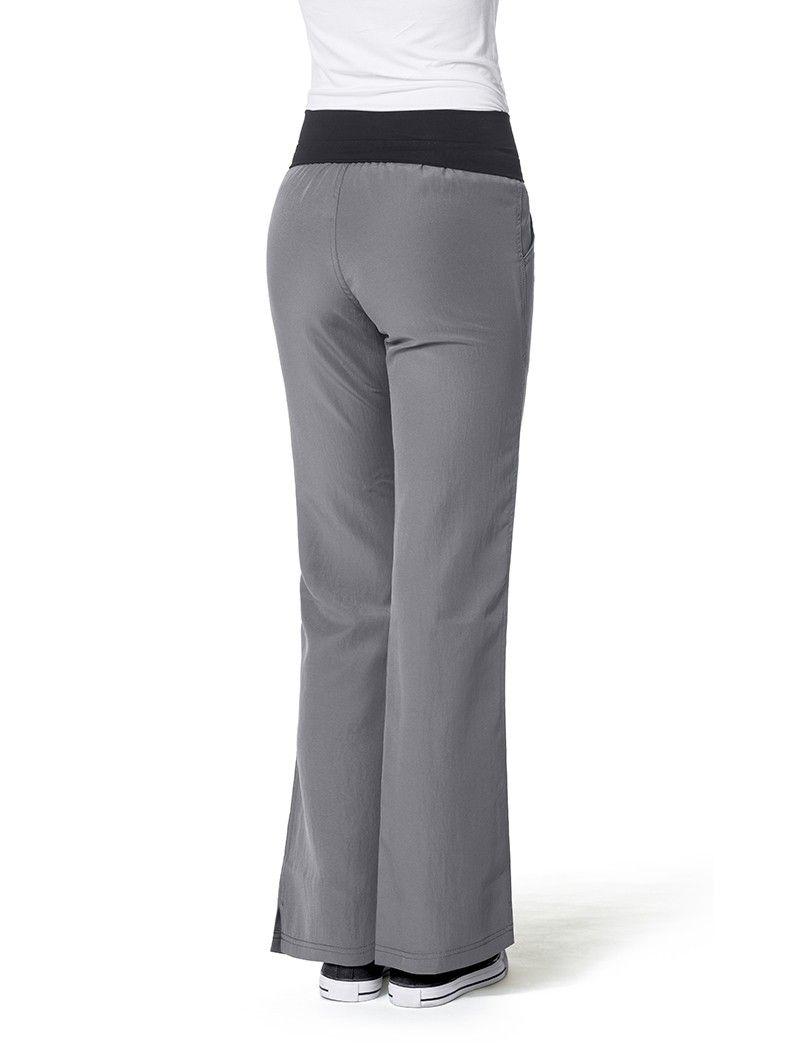 a886578812b WonderWink Four-Stretch Fold Over Knit Waist Scrub Pant | Scrubs ...
