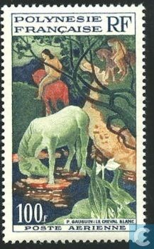 Stamps French Polynesia Paul Gauguin 1958 Polynesie