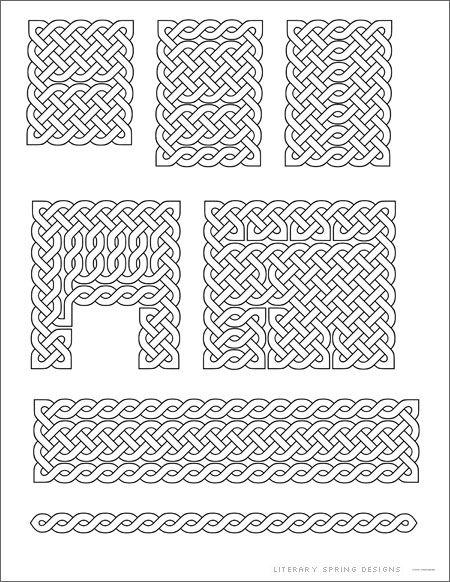 Small Celtic Knots Printable | Mandalas