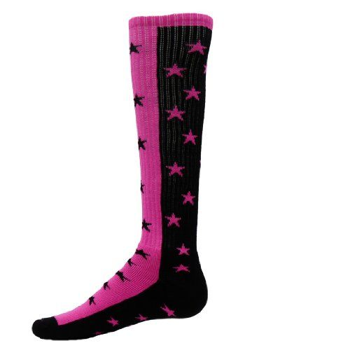 ff815677337 Red Lion Zenith Star Knee High Athletic Socks Black Neon Pink Small     You  can find more details by visiting the image link.Note It is affiliate link  to ...