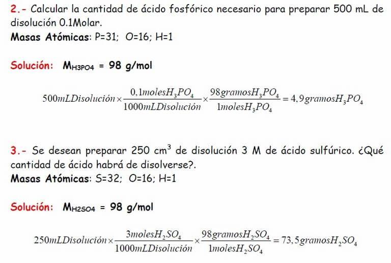 Ejercicios De Disoluciones Disoluciones Quimicas Experimentos De Quimica Química