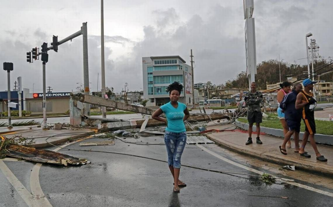 We Will Find Our Island Destroyed Hurricane Maria S Rampage Demolishes Puerto Rico Puerto Rico National Hurricane Center One Hurricane