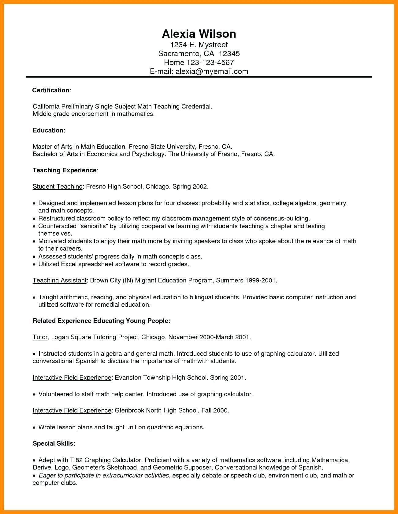 19++ Objective for resume for teacher ideas in 2021