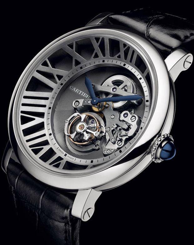 Cartier Cadran Lové Tourbillon Watch [se acerca navidad y a mi me gustó éste juguetito ¡que cosas!]
