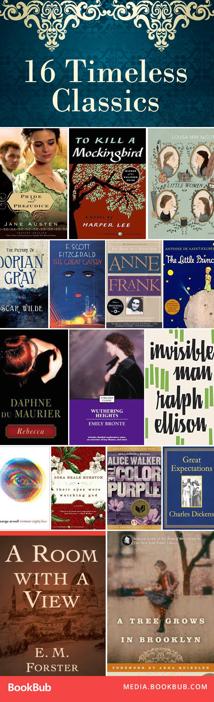 16 Classic Books We're Thankful For