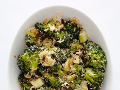 Parmesan Broccoli  This was easy and DELISH! We have a new favorite side dish!