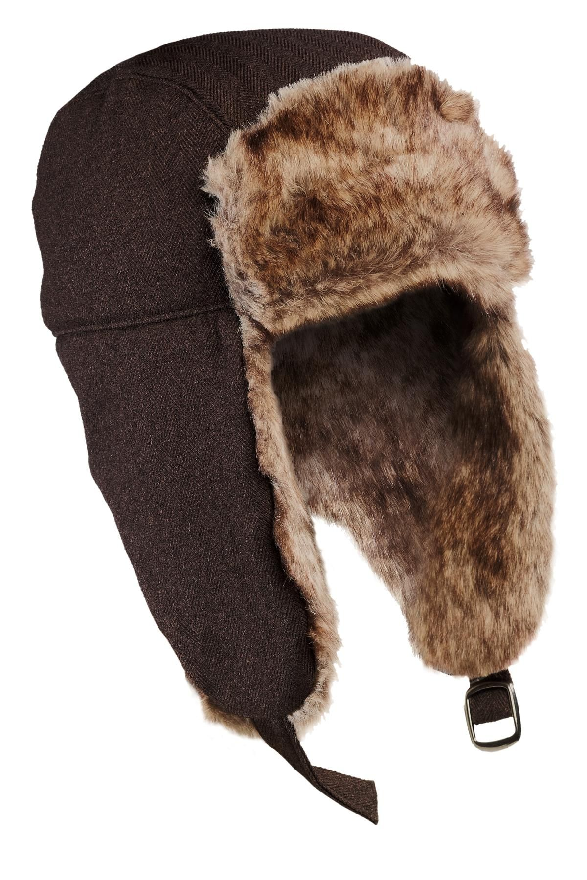 4b6c110ae8520b Winter is coming! No Elmer Fudd here. Trap nothing but style in this faux  fur-lined favorite. #trapper #winteriscoming #hat