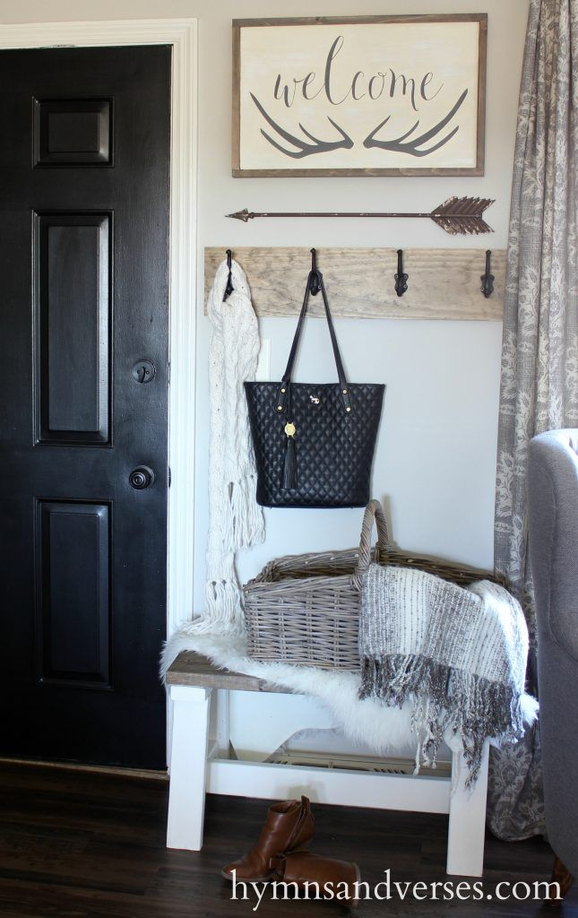 Fall Entryway And Welcome Sign Home Home Decor Diy