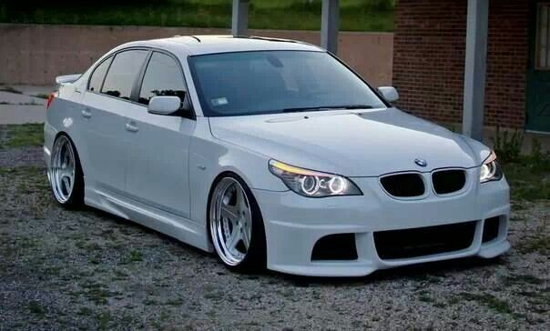 bmw e60 5 series white slammed bmw ultimate driving machine pinterest slammed bmw and cars. Black Bedroom Furniture Sets. Home Design Ideas